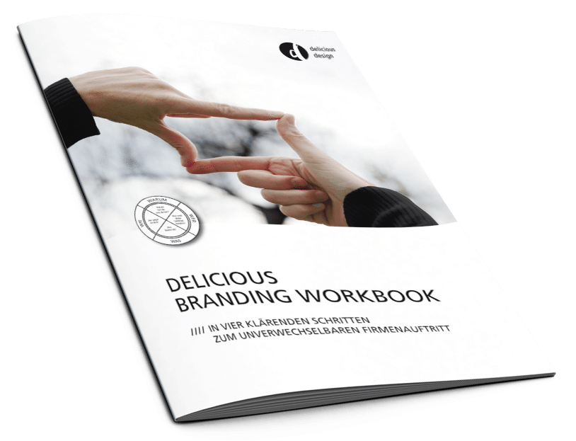 Cover des Delicious Branding Workbooks