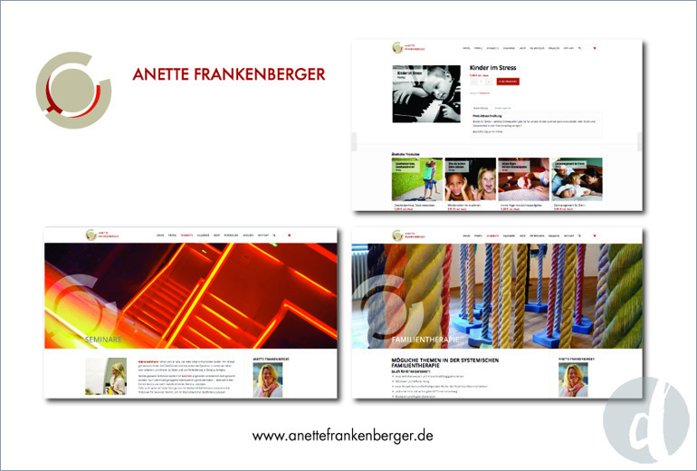 Portfolio Delicious Design Anette Frankenberger Website