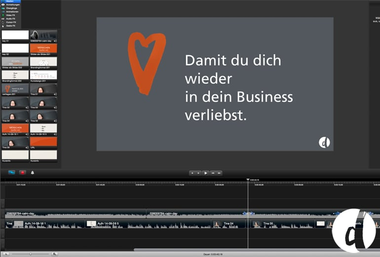 Onlinekurs Zeig dich Delicious Design Video