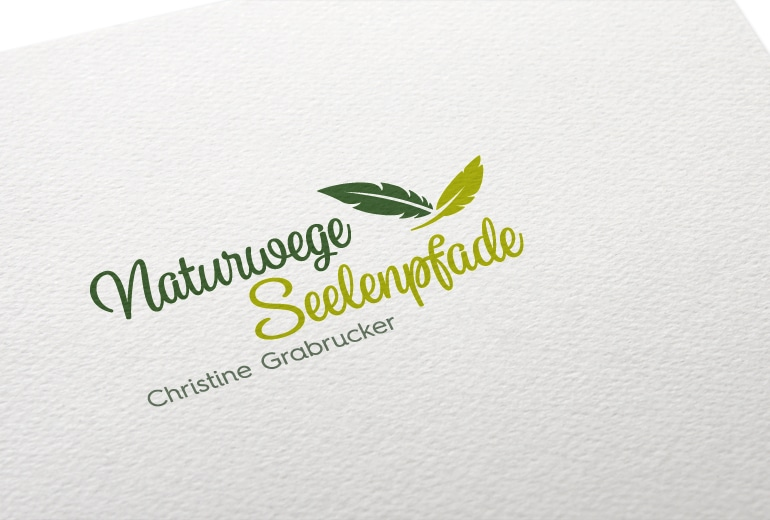 Logodesign Naturwege-Seelenpfade Delicious Design
