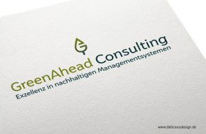 Logodesign für Peggy Wenzel Greenahead Consulting - Delicious Design